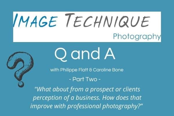 Interview with Image Technique Photography – Part II