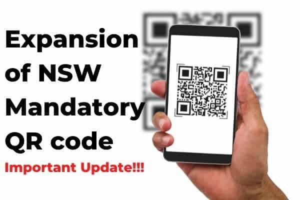 NSW QR code Update