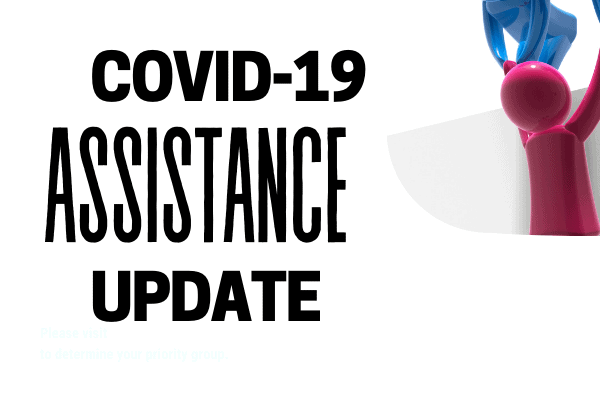 Covid19 Assistance update
